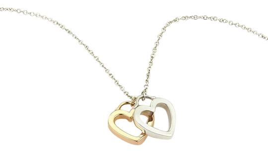 Preload https://img-static.tradesy.com/item/24406278/tiffany-and-co-sterling-18k-rose-gold-open-double-heart-pendant-necklace-0-1-540-540.jpg