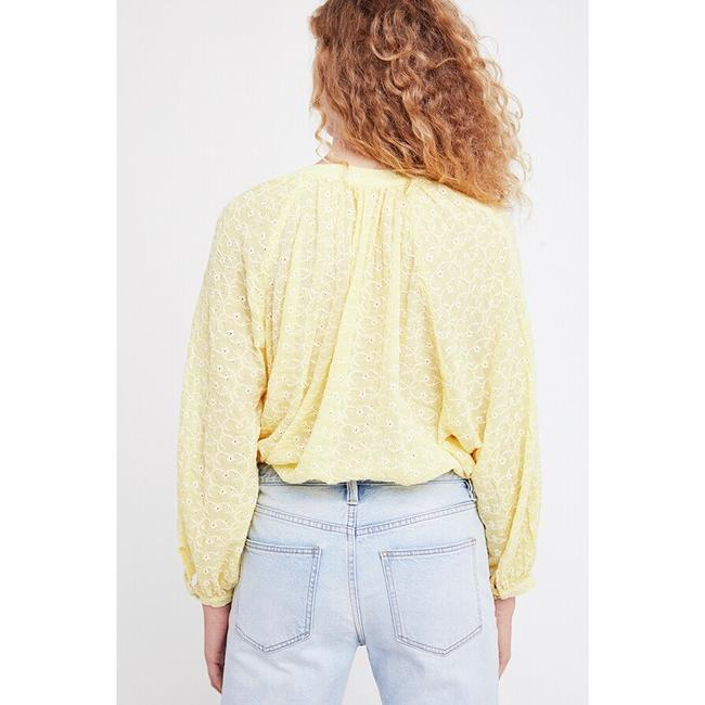 Free People Top New Yellow / Gold Image 1