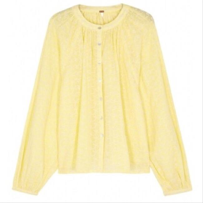 Free People Top New Yellow / Gold Image 4