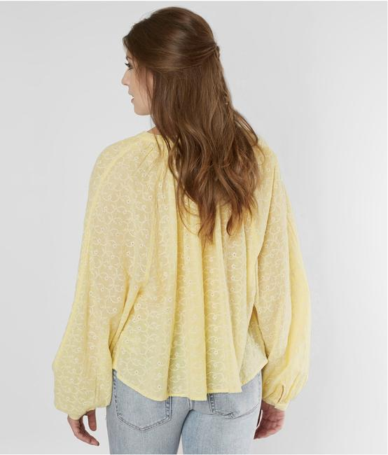 Free People Top New Yellow / Gold Image 7