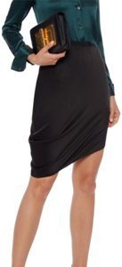 Halston Mini Skirt Black