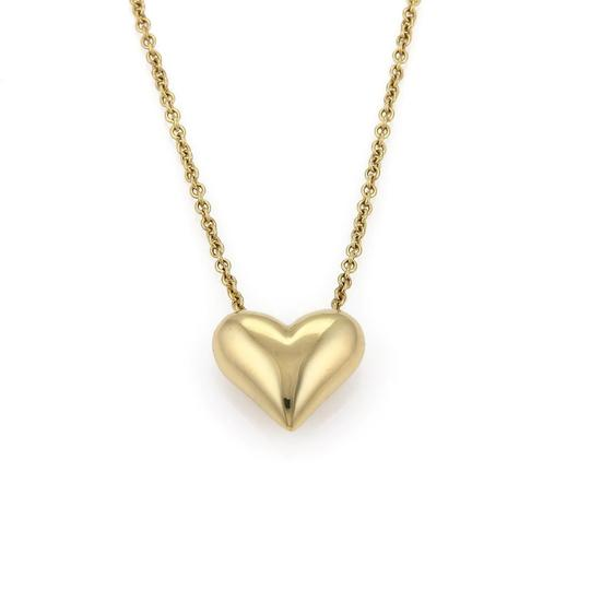 Preload https://img-static.tradesy.com/item/24406455/tiffany-and-co-classic-18k-yellow-gold-puffed-heart-pendant-chain-necklace-0-0-540-540.jpg
