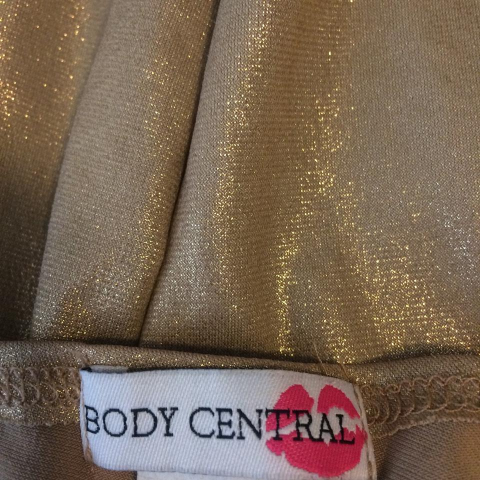 Body Central Sale >> Gold Cocktail Dress