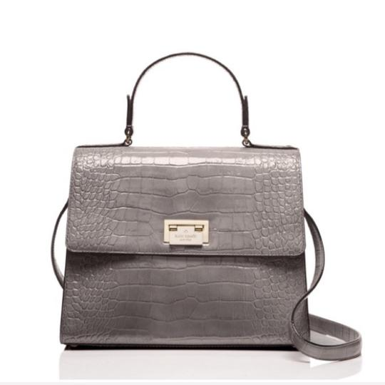 Kate Spade Satchel in Gray/Gold Image 1