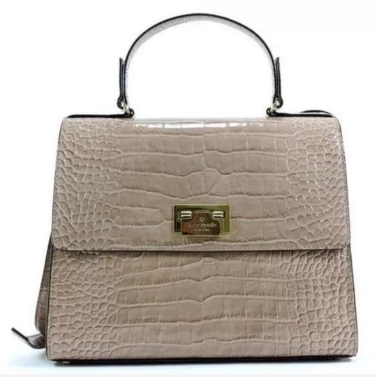 Kate Spade Satchel in Gray/Gold Image 4