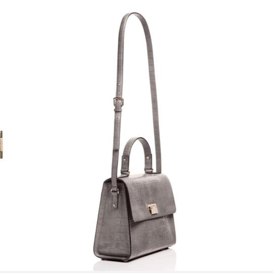 Kate Spade Satchel in Gray/Gold Image 5
