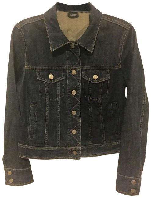 Item - Dark Denim Jeans Jacket Size 8 (M)