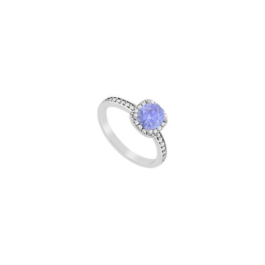 Preload https://img-static.tradesy.com/item/24406719/blue-cubic-zirconia-and-created-tanzanite-halo-engagement-in-14k-white-ring-0-0-540-540.jpg