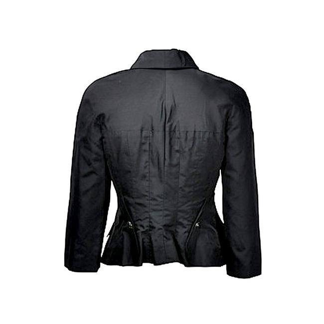 Chanel Fitted Buttons Black Blazer Image 1
