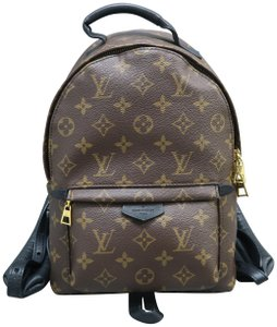 Louis Vuitton Lv Palm Springs Pm Canvas Backpack
