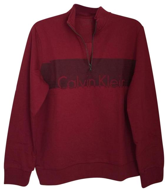 Preload https://img-static.tradesy.com/item/24406932/calvin-klein-black-friday-14-zip-color-in-red-sweater-activewear-size-12-l-0-2-650-650.jpg