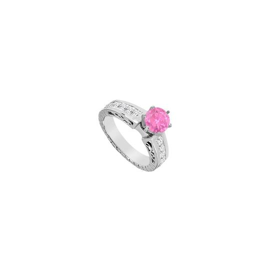 Preload https://img-static.tradesy.com/item/24406979/pink-created-sapphire-and-cubic-zirconia-princess-cut-engagement-ring-0-0-540-540.jpg