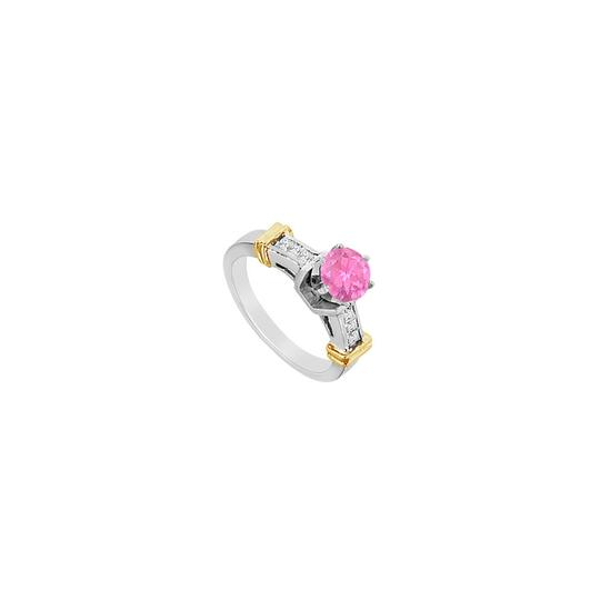 Preload https://img-static.tradesy.com/item/24406999/pink-princess-cut-cubic-zirconia-and-created-sapphire-engagement-ring-0-0-540-540.jpg
