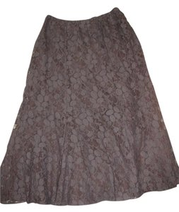 Chico's Skirt Black lace