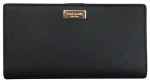 Kate Spade Stacey Wallet In Black Leather Kate spade leather wallet Stacey new