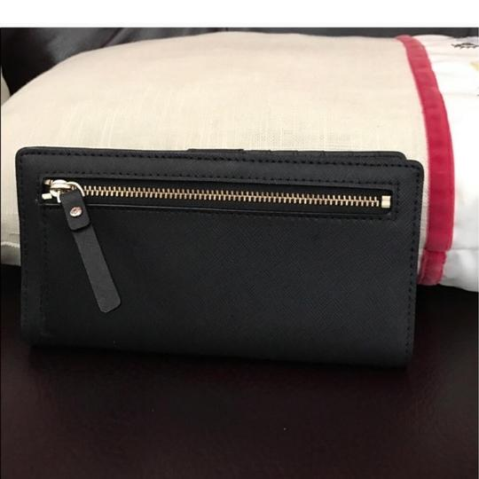 Kate Spade Stacey Wallet In Black Leather Kate spade leather wallet Stacey new Image 4