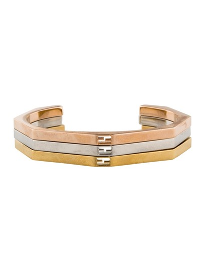 Preload https://img-static.tradesy.com/item/24407157/fendi-palladium-plated-sterling-rose-gold-tone-and-gold-tone-stack-able-cuffs-braceletsdesigner-brac-0-0-540-540.jpg