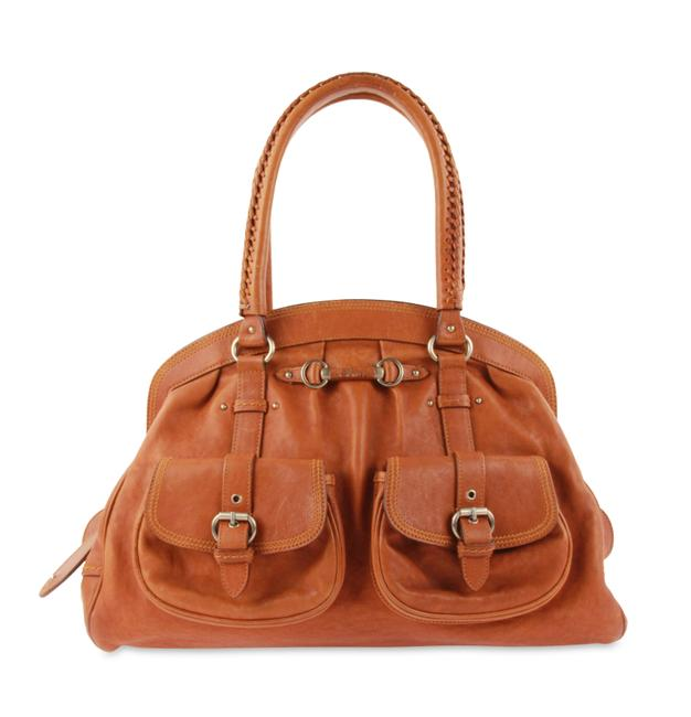 Item - My  Pockets Brown Leather Tote