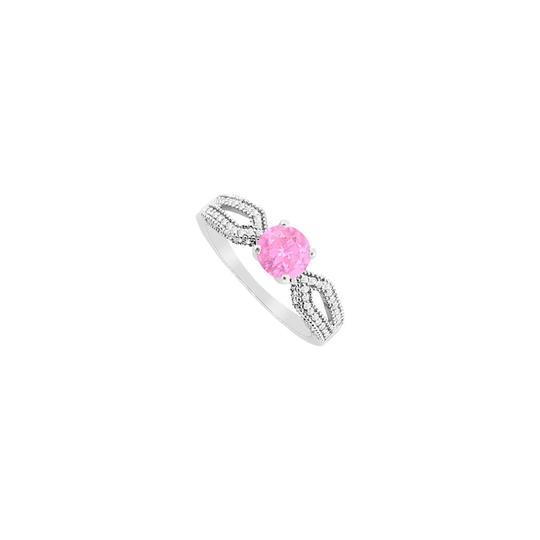 Preload https://img-static.tradesy.com/item/24407199/pink-created-sapphire-and-cubic-zirconia-engagement-14k-white-gol-ring-0-0-540-540.jpg