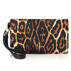 Juicy Couture Juicy Couture Coldwater Leopard Print Tech Phone Wristlet Wallet