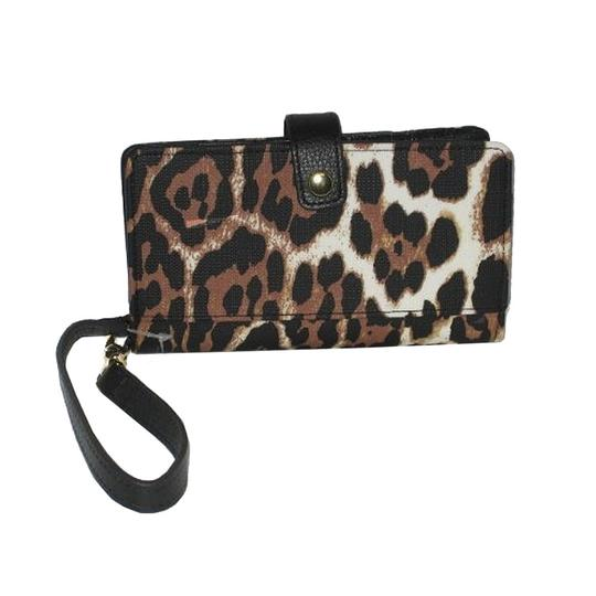 Juicy Couture Juicy Couture Coldwater Leopard Print Tech Phone Wristlet Wallet Image 1