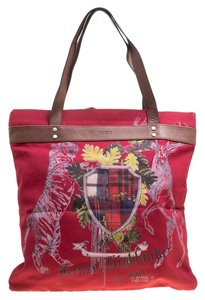 Kenzo Canvas Tote in Red