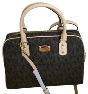 Michael Kors Satchel in Brown Signature