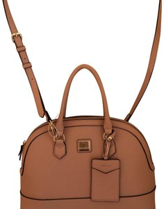 Anne Klein Satchel in Blush
