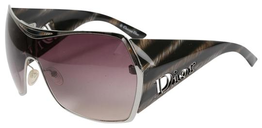 Dior CHRISTIAN DIOR Gaucho 1 HJX94 Grey Oversized Sunglasses Image 0
