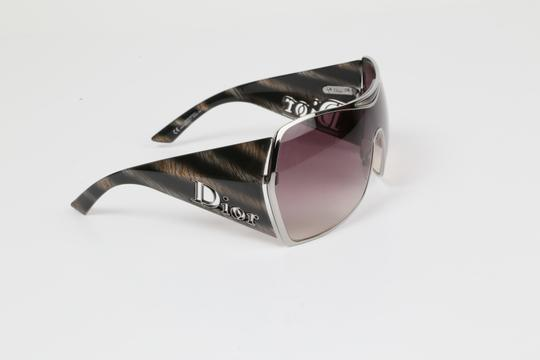 Dior CHRISTIAN DIOR Gaucho 1 HJX94 Grey Oversized Sunglasses Image 7