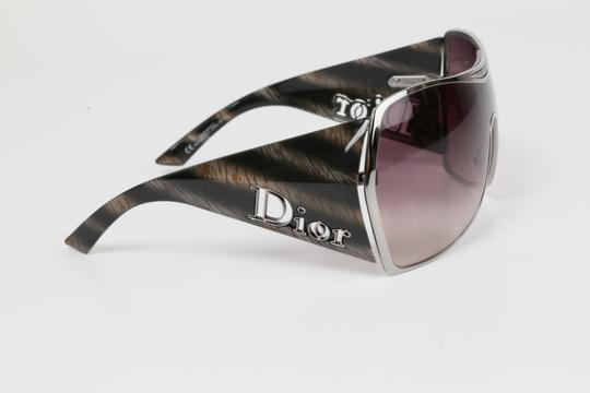 Dior CHRISTIAN DIOR Gaucho 1 HJX94 Grey Oversized Sunglasses Image 8