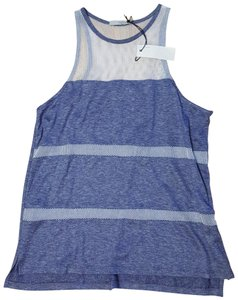 Townsen Top Blue white