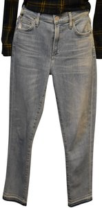 Citizens of Humanity Ankle Rocket Crop High-rise Capri/Cropped Denim-Light Wash