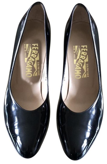 Preload https://img-static.tradesy.com/item/24407934/salvatore-ferragamo-black-patent-calf-pumps-size-us-7-regular-m-b-0-1-540-540.jpg