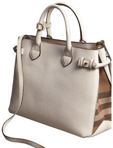 Burberry Satchel in Limestone