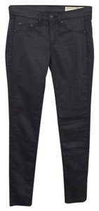 Rag & Bone Fall Winter Polyester Cotton Lycra Jeggings-Dark Rinse