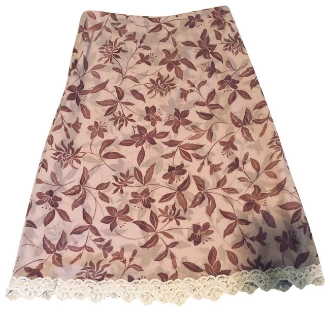 Item - Beige / Brown Tulle Skirt Size 4 (S, 27)
