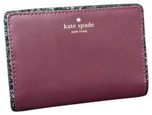 Kate Spade Kate spade wallet new in deep plum