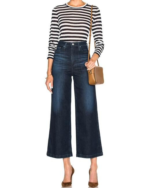 Item - 7 Years Union Dark Rinse Yvette High Bell Bottoms Nautical Wide Flare Leg Jeans Size 26 (2, XS)