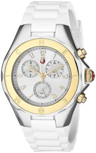 Michele Michele Tahitian Jelly Bean Large Watch MWW12F000056 Two Tone 40 mm