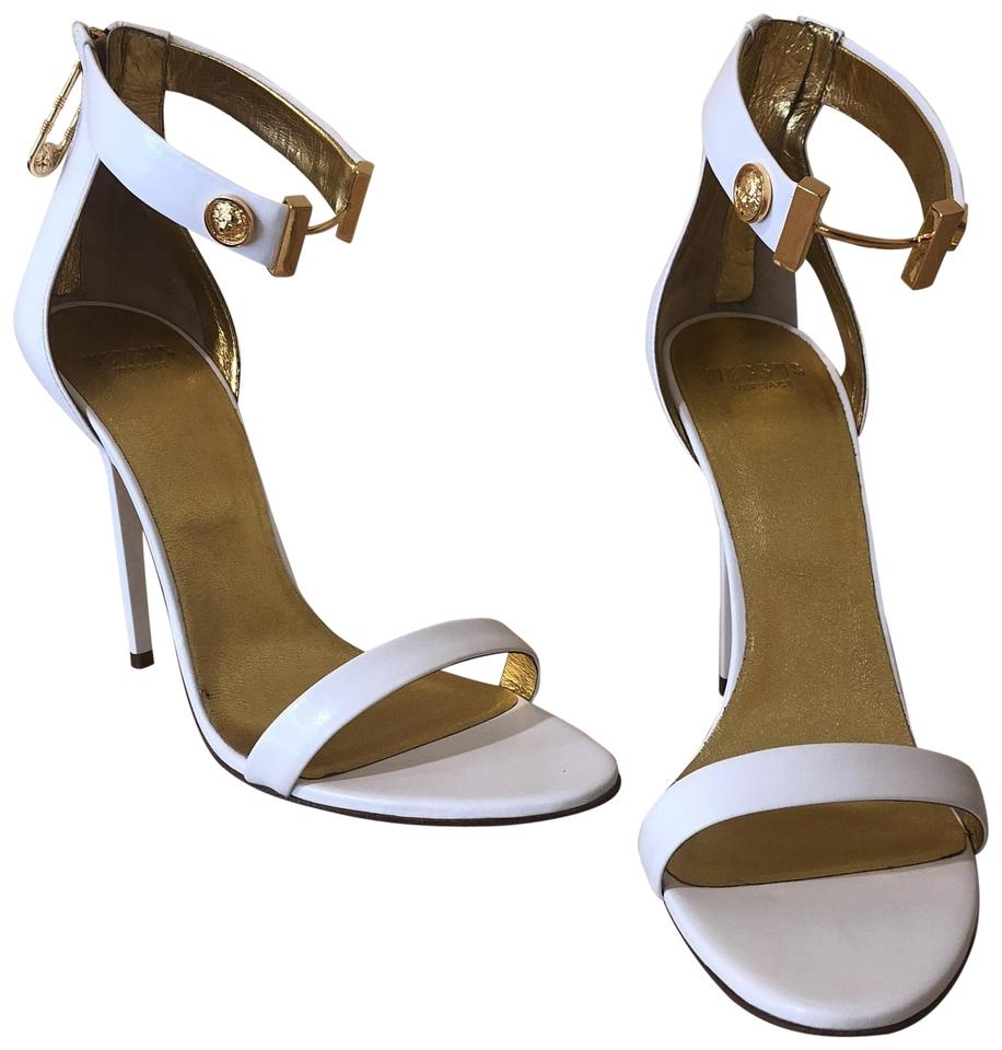 cbba292f1a Versus Versace White and Gold Formal Shoes Size EU 41 (Approx. US 11 ...