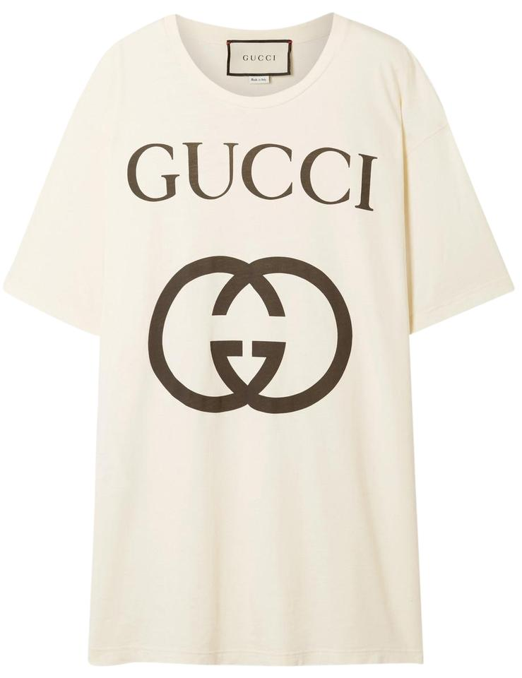 9199f178f043 Gucci Printed Cotton-jersey T-shirt Women Xl Tee Shirt Size 16 (XL ...