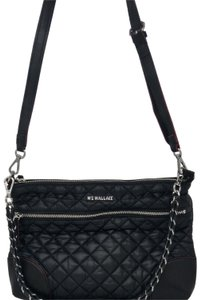 MZ Wallace Shoulder Quilted Oxford Cross Body Bag