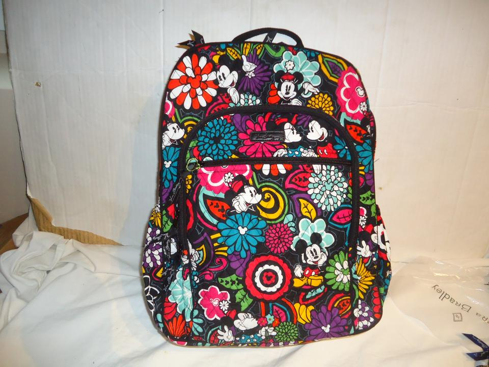 5d531d3bb62 Vera Bradley Disney Campus Magical Blooms Cotton Backpack - Tradesy