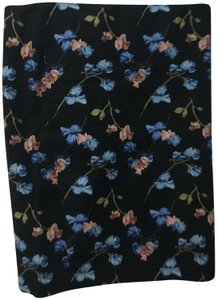Dalia Pencil Floral Design Size M Skirt Black
