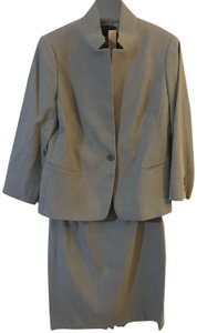 Lafayette 148 New York Lafayette 148 New York Beige Skirt Suit Set Wool Blend Sz. 6