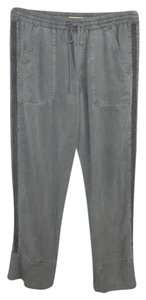 Cloth & Stone Embroidered Elastic Fall Winter Relaxed Pants Grey