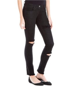 Max Studio Distressed Ripped Skinny Jeans