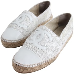 e35d5321022f Chanel Espadrilles on Sale - Up to 70% off at Tradesy
