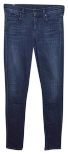 Citizens of Humanity Cotton Rayon Silver Hardware Winter Skinny Jeans-Medium Wash